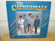 "THE CATHEDRALS...""VOICES IN PRAISE/ A CAPPELLA""......OOP GOSPEL ALBUM"