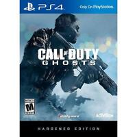 Call of Duty: Ghosts -- Hardened Edition (Sony PS4, 2013) Brand New Factory Seal