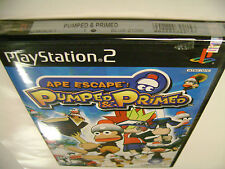 Ape Escape: Pumped & Primed (Sony PlayStation 2) BRAND NEW FACTORY SEALED