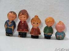 Vintage Play Family People Set of 5