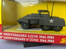 Solido US Army M20 Combat Car-Diecast 1:50 1984 WW II 40th Anniversary D-Day-NIB