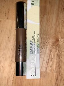 Clinique Chubby Stick Shadow Tint for Eyes (Lots O' Latte) BNIB QTY 1