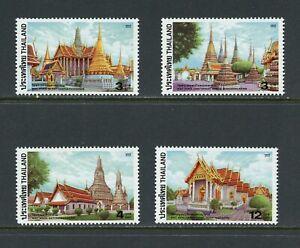 B229  Thailand  2002   temples   4v.       MNH