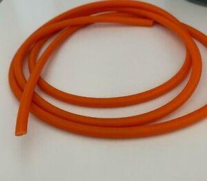 1 Meter Orange Latex Rubber Tube Slingshot Catapult Band Elastic 2x5mm 1M