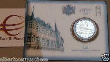 Coin card 2 euro 2016 Lussemburgo Luxembourg Luxemburg Luxemburgo pont CHARLOTTE