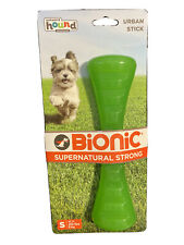 Outward Hound Bionic Urban Stick Durable Fetch and Chew Toy for Dogs S Green