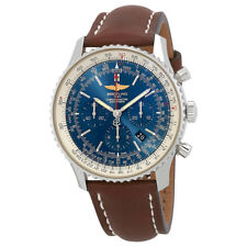Breitling Navitimer 01 Aurora Blue Dial Automatic Mens Chronograph Watch