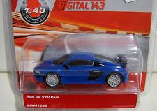 Carrera 41395 Digital 143 Audi R8 V10 Plus in blau