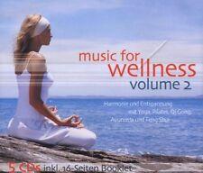 Jean-Paul Genré Music for wellness (incl. 16-Seiten-Booklet, 2004) [5 CD]