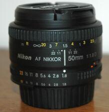 Nikon AF Nikkor 50 mm/1:1 .8 D