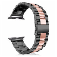 For Apple Watch Series SE 4/5/6 38/40/42/44MM Strap Stainless Steel Watch Bands