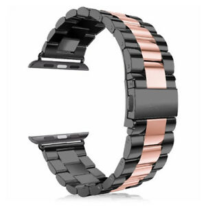 For Apple Watch Series SE 3/4/5/6 38/40/42/44MM Strap Stainless Steel Watch Band