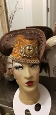 New listing 20s Style Steampunk Hat