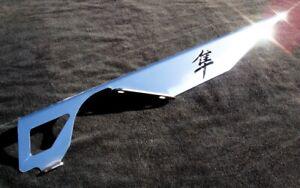 "Suzuki HAYABUSA +6"" Extended Polished SS Chain Guard GSX1300R BUSA ALL YEARS"