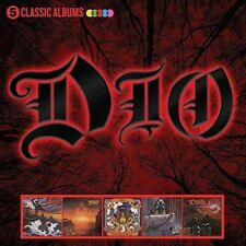 DIO - 5 CLASSIC ALBUMS (1983-1990) CD BOXSET  RONNIE JAMES DIO