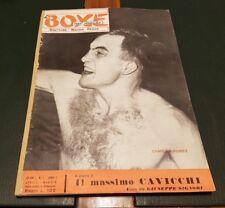 PUGILATO : LA BOXE NEL MONDO ( Annata completa 1955 ) Anno I ** Rarità **