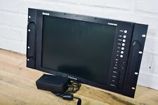 "Marshall VR151DPAFHD 15"" Single High Definition LCD Monitor Rack Mount MINT"