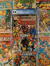 Avengers 181 CGC 9.8 1st Appearance of Scott Lang (Becomes Ant-Man) Marvel,1979