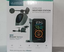 La Crosse Wireless Weather Station Temperature, Wind, Humidity, Time Clock Date