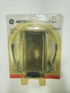 NEW - Vintage - GE AM/FM Stereo Cassette Player - Model 3-5493S - Portable Radio