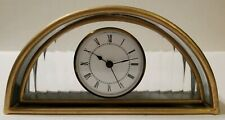 Stained Glass Table Mantle Clock Germany