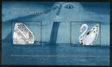 AUSTRIA SWAROVSKI CRYSTAL SOUVENIR SHEET SCOTT#1966 MINT NH SUITABLE FOR FRAMING