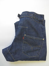 LEVI'S TYPE 2 TWISTED ENGINEERED JEANS W28 L32 STRAUSS BLUE LEVG678 #