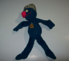 "vintage Knickerbocker Super Grover Plush Toy 14"" Sesame Street"