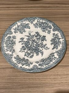 Enoch Wedgwood Asiatic Pheasants Tea/Side Plates 6.5 inch diameter Green
