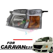 For NISSAN Caravan Urvan E25 2005-2012 LHD Left Inner+Outer Crystal Headlight h