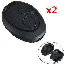 Pair Replacement 2 Button Remote Key Fob Shell Case Fits for Rover 75 MG ZT