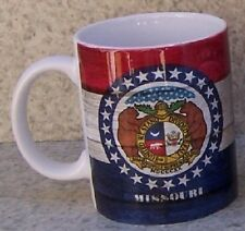 Coffee Mug Explore America Missouri State Flag NEW 11 ounce cup with gift box