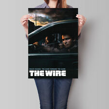 The Wire Poster TV Series 2002 Show 16.6 x 23.4 in (A2)