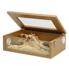 Monkfield Terrainium Reptile Vivarium 18 Inch Leo Gecko Corn King Milk Snake