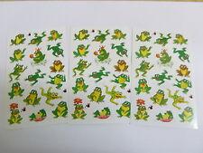Rana Ranas Pegatinas Niños Etiquetas Para Decoración Artesanal card-making 53168