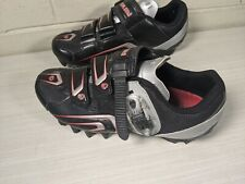Pearl Izumi Interface Men Mens Us 6.5 - 7 All Road Cycling Shoes Black Red Nice!