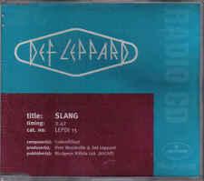 Def Leppard-Slang Promo cd single
