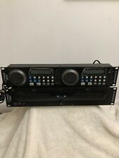 Pyle Pro PDCD212 Rack Mount Professional Dual CD Player