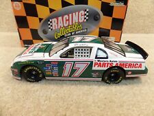 New 1997 Action RCCA 1:24 NASCAR Darrell Waltrip Parts America 1981-82 Green