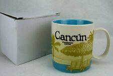 Starbucks 2014 Cancun Global City Icon Series Coffee Cup Mug Tea 16 oz  NIB