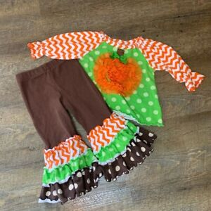 Mollie & Millie Thanksgiving Outfit