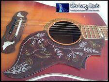 Guitarra Acústica Pickguard Hummingbird J200 Dove KAY Suzuki Alverez Columbus