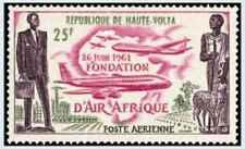 Timbre Aviation Haute Volta PA4 ** lot 21910