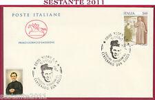 ITALIA FDC CAVALLINO CENTENARIO DON BOSCO FESTEGGIAMENTI 1989 ANNULLO NUORO U511