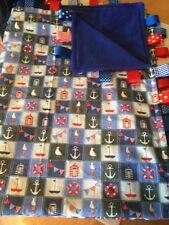 Nautical Cot Nursery Blankets & Throws