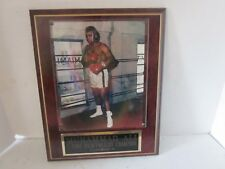 Muhammad Ali 8x10 Photo on 10 1/2 x 13 Plaque engraved plate j74