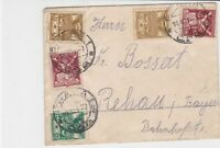 czechoslovakia 1921 stamps cover ref 21006