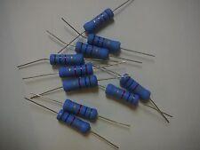 SEI Metal Oxide Resistor  3W  1.6K ohm  5% **NEW** 10/PKG