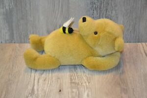 """Gund Classic Winnie the Pooh Bear with Bee on his Tummy 10"""" Plush"""