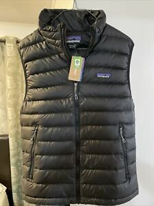 Patagonia Down Sweater Vest Men's Black - Small